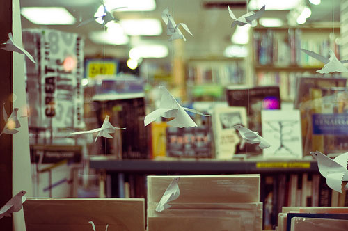 books and doves
