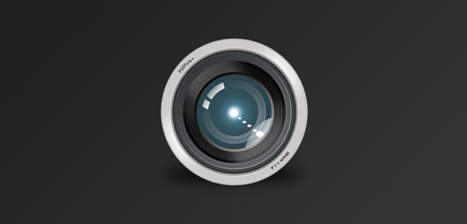 Create a Camera Lens Icon in Photoshop
