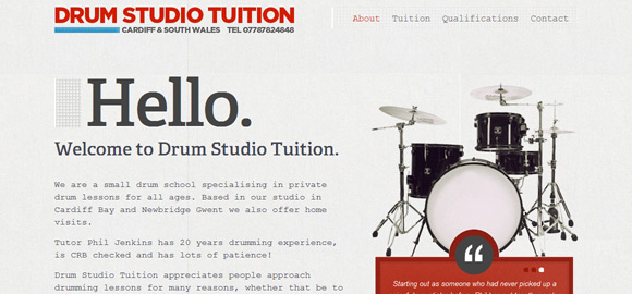 Drum Studio Tuition