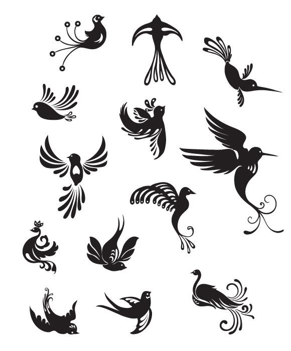 bird vectors