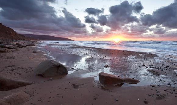 Inverness Beach Sunset