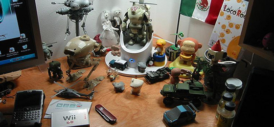 Working with Desk Clutter