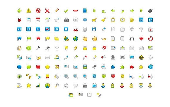 Pixelbox icon sets