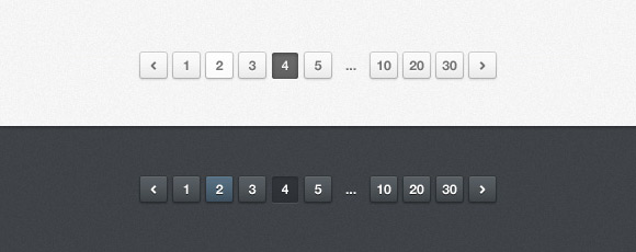 Light and Dark Pagination