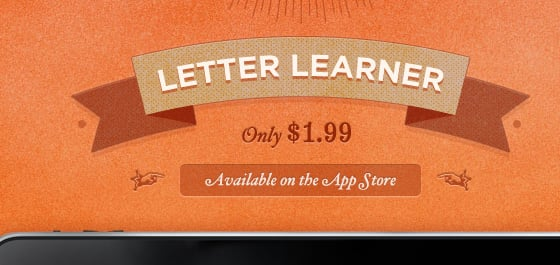 Letter Learner App for iPhone and iPad