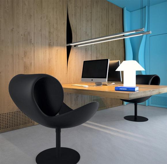 30 Creative Wooden Workspace Interior Designs