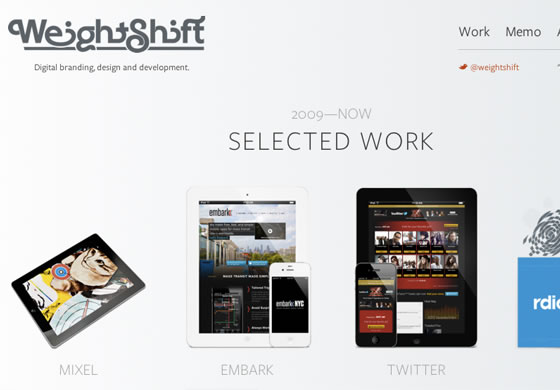 Weightshift design studio