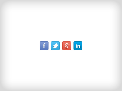 social network icons psd freebie