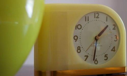 retro ticker clock featured image