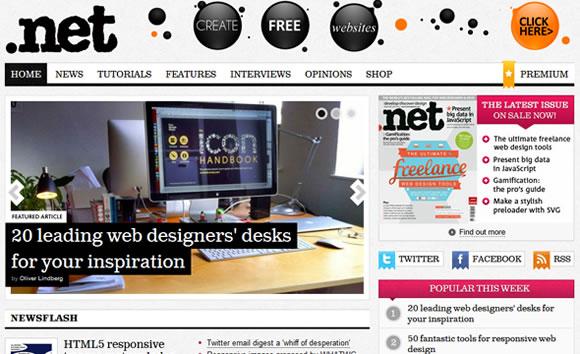 .Net web design magazine