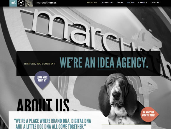 Big Backgrounds in Web Design