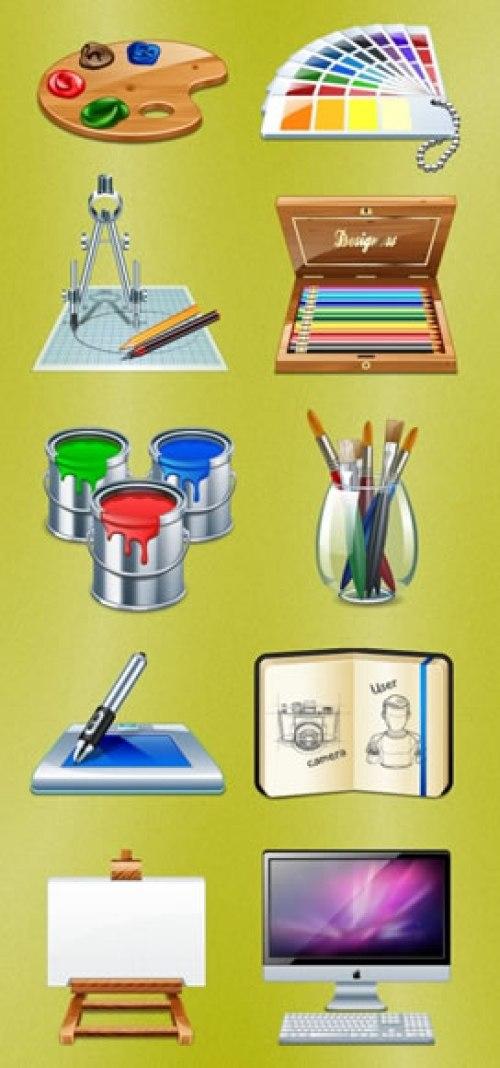 Web Designers Icons