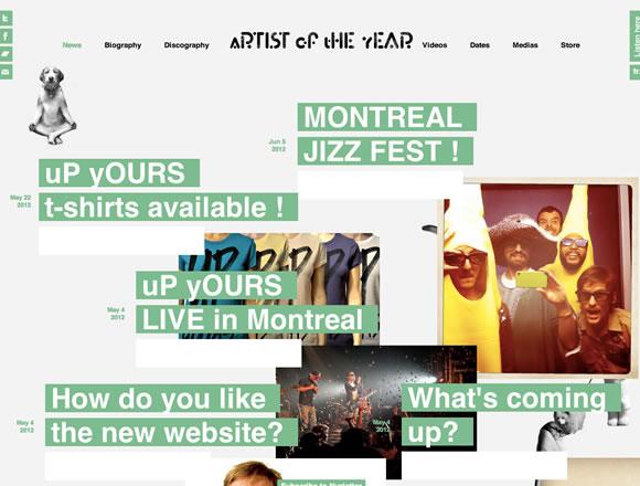 colorfulsites04 21 Ejemplos de uso de colores distintos en diseño web