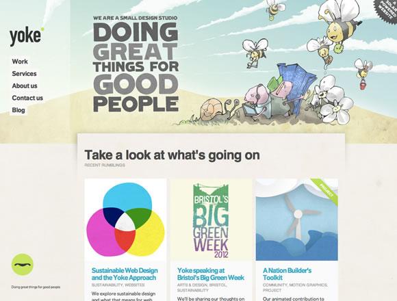 colorfulsites13 21 Ejemplos de uso de colores distintos en diseño web