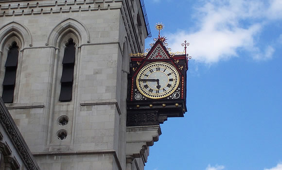 Clocks in London UK - time management