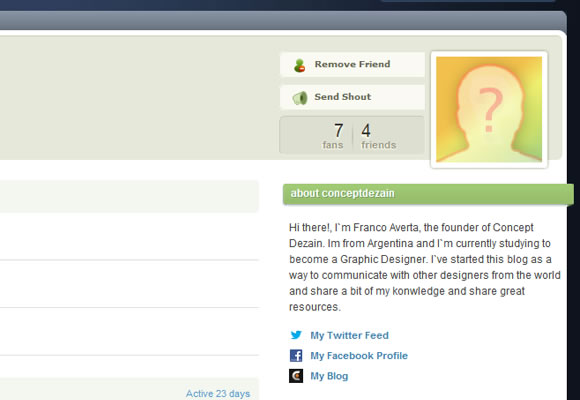 DigZign web design social news