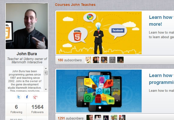 User education social media profiles
