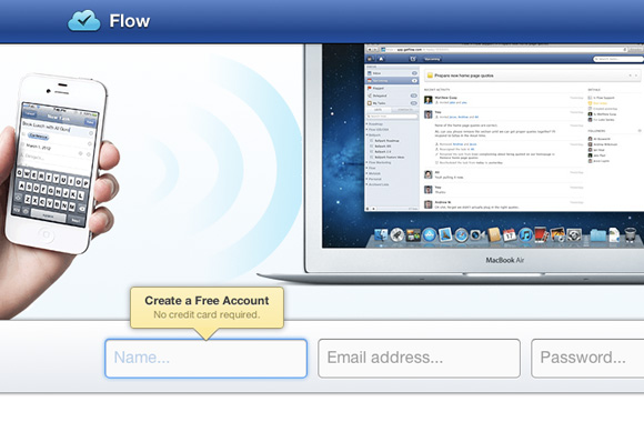FlowApp tasks list online cloud app