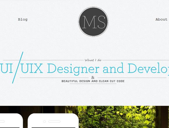 Freelance design portfolio for Marion Serenio