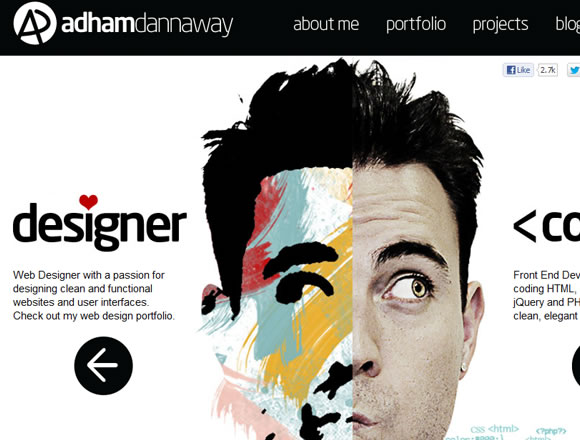 Adham Dannaway designer and coder freelance