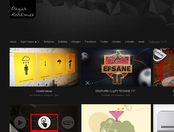 Ozgur Kormaz website online portfolio