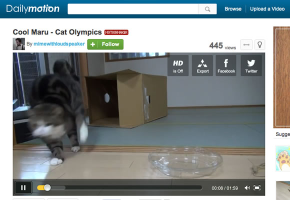 Dailymotion video streaming website