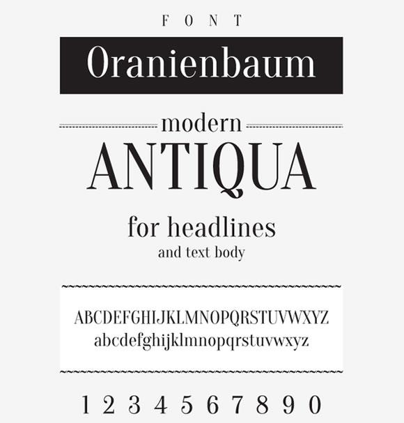 8 New Free Fonts