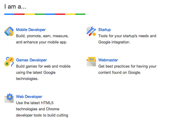 Google Web Tools products and online tools