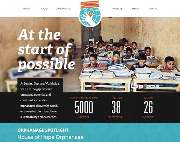 21 Web Designs that take Advantage of Typography Power