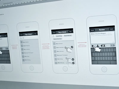 Inspiring Wireframes Sketches