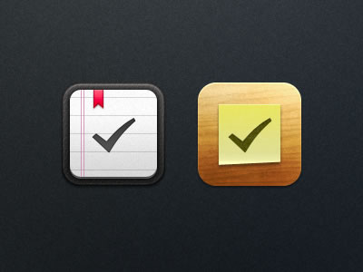 iPhone and iPad reminders app icon