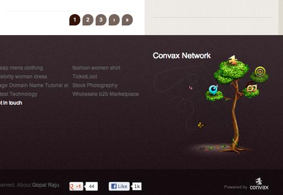 dark footer graphics tree illustration productivedreams
