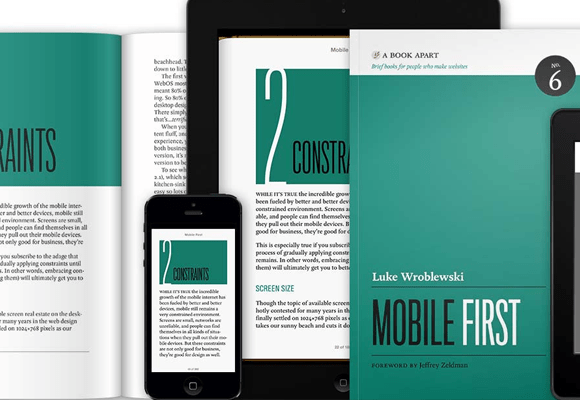 mobile first book webdev designing websites
