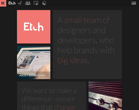 23 Examples of Flat Websites