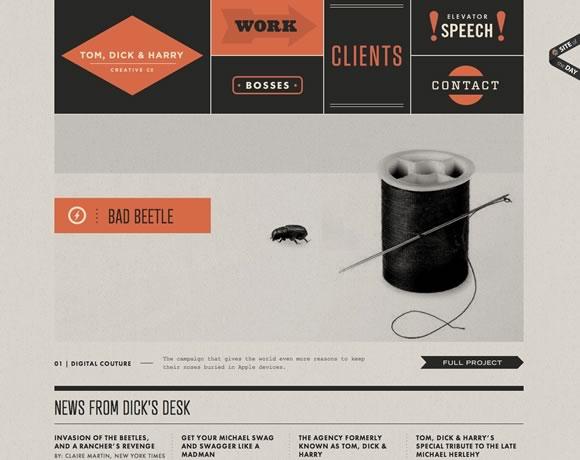 17 Inspiring Examples of Retro Elements in Web Design