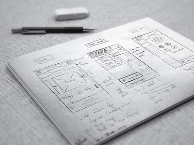 UI   Wireframe Sketches to Keep You Inspired   Wanderlust Web Design     UI   Wireframe Sketches to keep you Inspired
