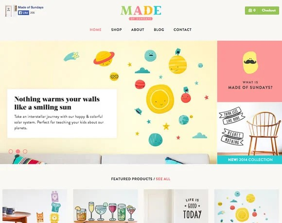 13 Examples of Illustrations and Hand Drawn Elements in Web Design