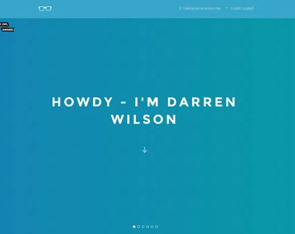 11 Inspiring Single Page Websites