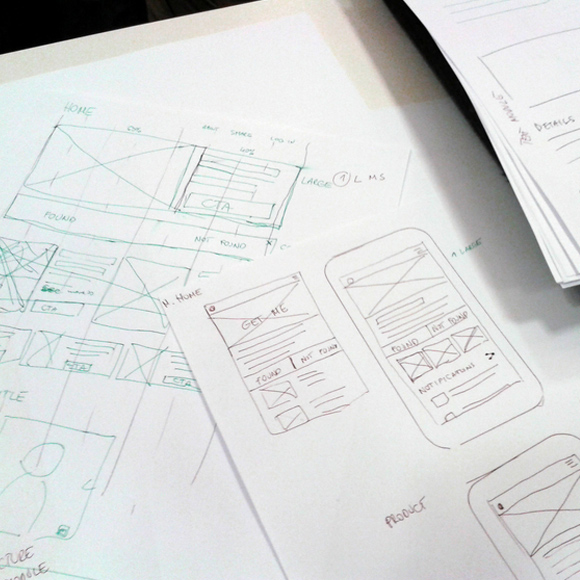 Top 5 favorite design tools for wire-framing