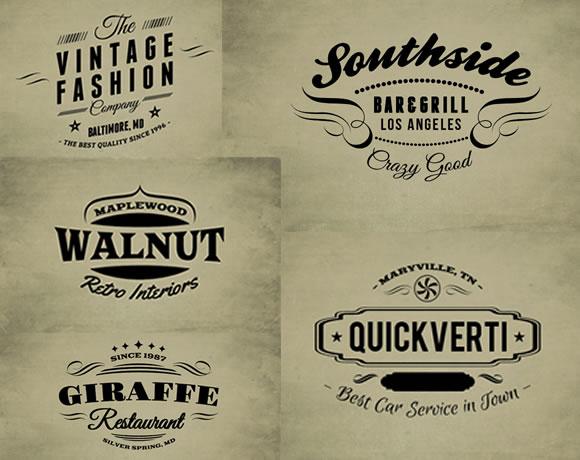 30 free vintage logo templates web design ledger 30 free vintage logo templates pronofoot35fo Choice Image