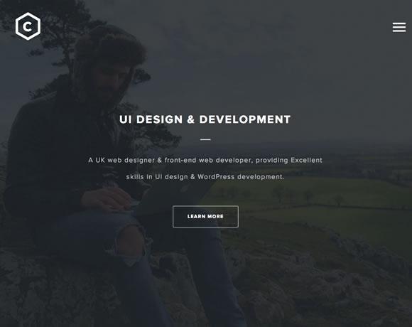 11 Inspiring Examples of Dark Colors in Web Design