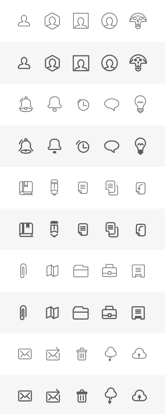 Fresh & Free Icon Sets for Web Designer's Toolbox