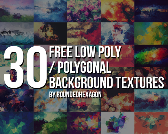 30 Geometric Texures and Patterns Free to Download