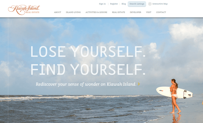 kiawah island real estate website