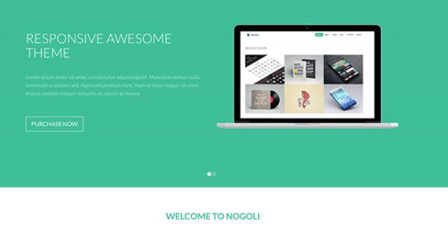 nogoli - awesome responsive theme