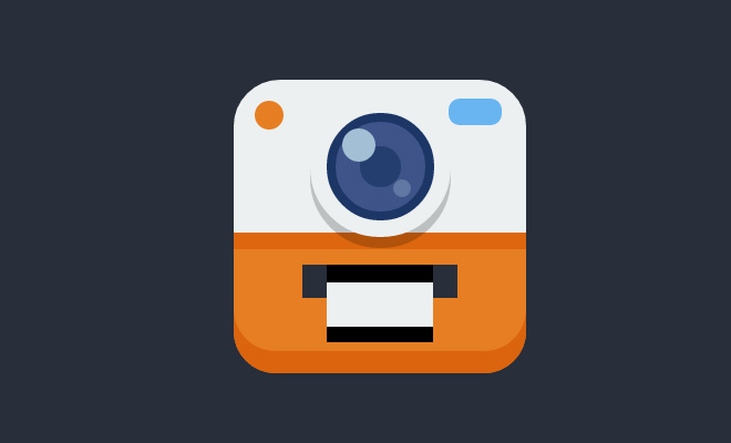 css3 pure camera icon animation open source