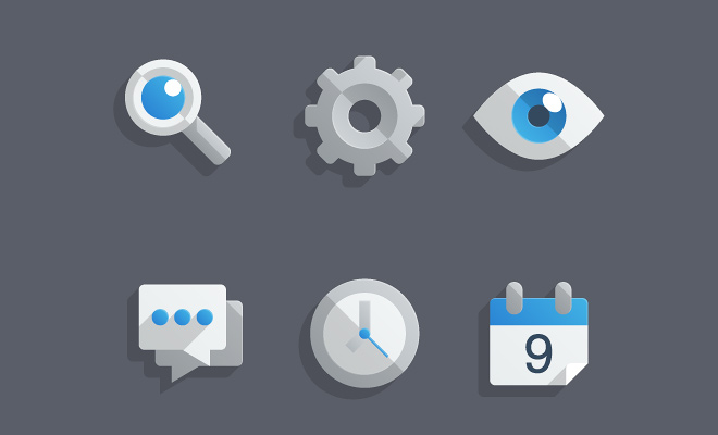almost flat illustrator glossy icons howto