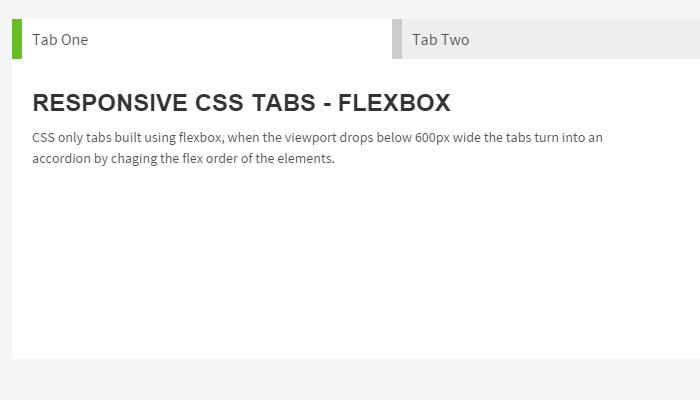 tabbed accordion content widget flexible responsive