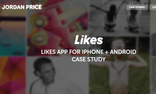 jordan price case study portfolio