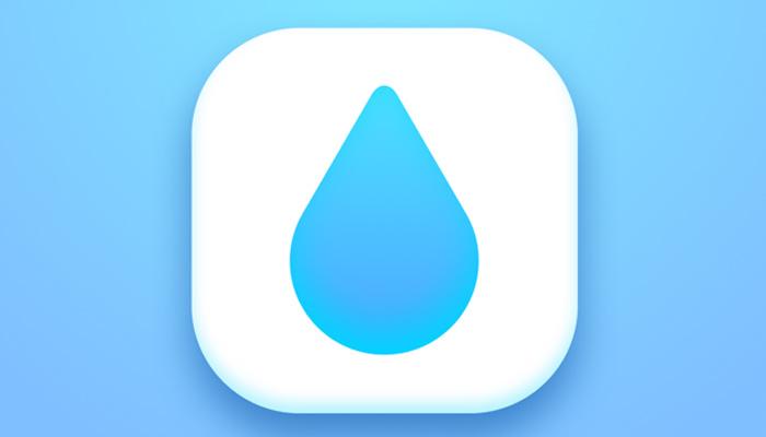 water drop icon sketch tutorial